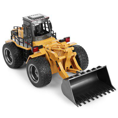 HUINA 1520 1:18 2.4G 6CH RC Simulation Alloy Truck Construction Toy - MULTI