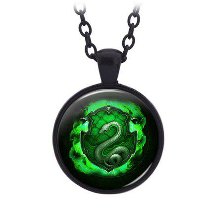 PIECEFUN Alloy College Logo Style Cosplay Collier