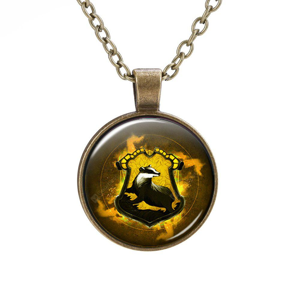 PIECEFUN College Logo Style Collier Cosplay