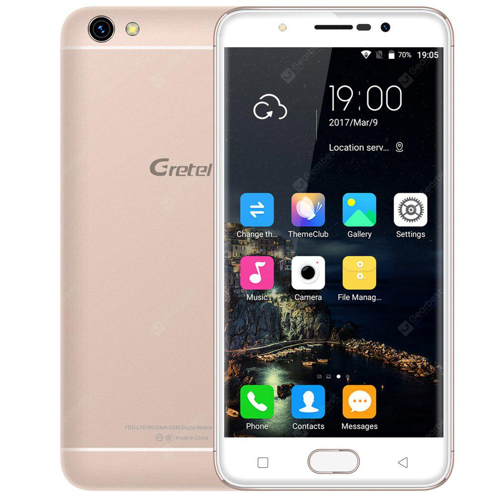 Gretel A9 4G Smartphone, GOLDEN, Mobile Phones, Cell phones