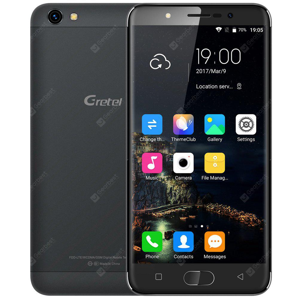 Gretel A9 4G Smartphone, BLACK, Mobile Phones, Cell phones