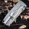 GANZO G722 - GR Small Line Locking Foldable Knife Stainless Steel Blade - ARMY GREEN