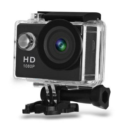 Gearbest A9 HD 1080P MJPEG 2 inch LCD IP68 30m Waterproof Sports Action Camera DVR