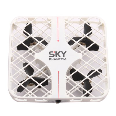 HAPPYCOW 777 - 382 SKY PHANTOM Mini RC Quadcopter - RTFRC Quadcopters<br>HAPPYCOW 777 - 382 SKY PHANTOM Mini RC Quadcopter - RTF<br><br>Battery: 3.7V 280mAh Li-ion Battery ( included )<br>Brand: HAPPYCOW<br>Built-in Gyro: 6 Axis Gyro<br>Camera Pixels: 0 ( no camera )<br>Channel: 4-Channels<br>Charging Time.: about 30 minutes<br>Compatible with Additional Gimbal: No<br>Detailed Control Distance: 50~60m<br>Features: Radio Control<br>Functions: With light, Up/down, Turn left/right, Speed up, Slow down, Sideward flight, Forward/backward, 3D rollover<br>Kit Types: RTF<br>Level: Beginner Level<br>Mode: Mode 2 (Left Hand Throttle)<br>Model: 777 - 382<br>Model Power: Rechargeable Battery<br>Motor Type: Brushed Motor<br>Night Flight: Yes<br>Package Contents: 1 x Quadcopter ( Battery Included ), 1 x Remote Controller, 1 x USB Charging Cable, 1 x English User Manual<br>Package size (L x W x H): 13.00 x 7.00 x 18.00 cm / 5.12 x 2.76 x 7.09 inches<br>Package weight: 0.2300 kg<br>Product size (L x W x H): 7.50 x 6.50 x 2.50 cm / 2.95 x 2.56 x 0.98 inches<br>Product weight: 0.1190 kg<br>Radio Mode: Mode 2 (Left-hand Throttle)<br>Remote Control: 2.4GHz Wireless Remote Control<br>Remote Control Distance: About 40m<br>Remote Control Time: About 4 minutes<br>Transmitter Power: 4 x AAA battery (not included)<br>Type: Quadcopter