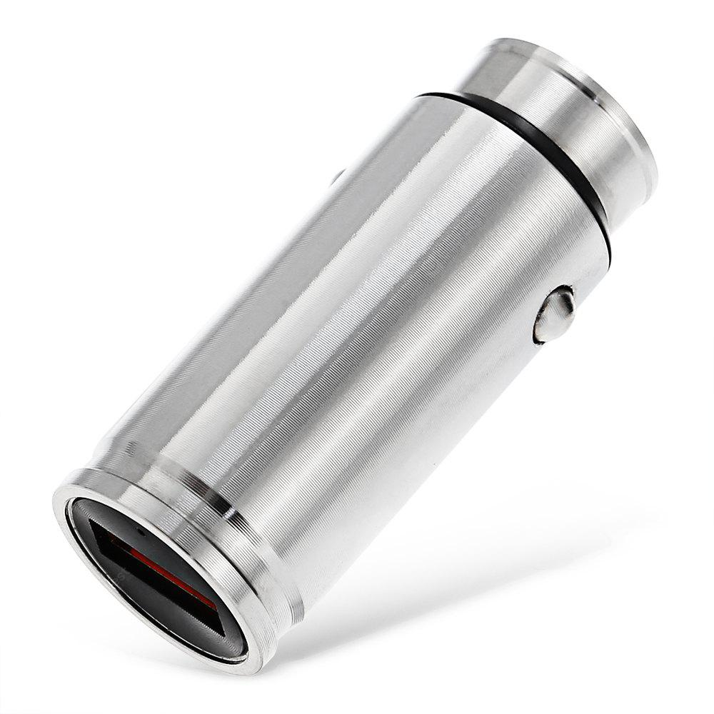 SILVER Shotgun Bullet Shape / Quick Charge 3.0 / for Tablets / Cellphones