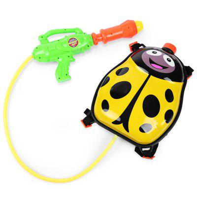 Kid Cute Ladybird Backpack Pressure Pump Squirt Gun