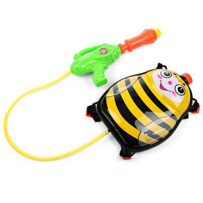 Kid Cute Bee Backpack Pressure Pump Squirt Gun