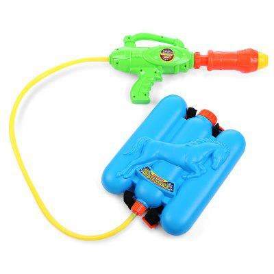 Kid Cute Horse Backpack Pressure Pump Squirt Gun