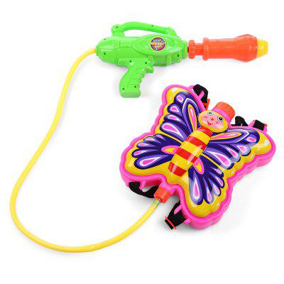 Kid Cute Butterfly Backpack Pressure Pump Squirt Gun