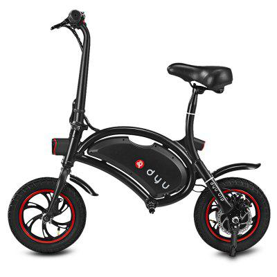 F - wheel D1 DYU Electric BikeElectric Bikes<br>F - wheel D1 DYU Electric Bike<br><br>Braking System: Rear Disc Brake<br>Brand: F-wheel<br>Color: Black,White<br>Model Number: D1<br>Package Content: 1 x F - wheel D1 DYU Electric Bike, 1 x Charger, 1 x English User Manual<br>Package size: 109.00 x 25.00 x 77.00 cm / 42.91 x 9.84 x 30.31 inches<br>Package weight: 16.5100 kg<br>Product size: 102.00 x 50.50 x 94.00 cm / 40.16 x 19.88 x 37.01 inches<br>Product weight: 12.0000 kg<br>Type: Electric Bicycle<br>Wheel Size: 12 inches