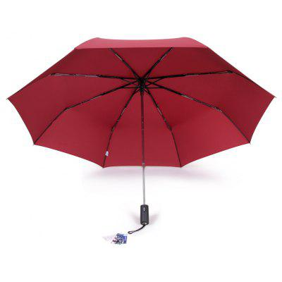 Buy WINE RED rainscape 4435 Windproof Folding Umbrella for $23.07 in GearBest store