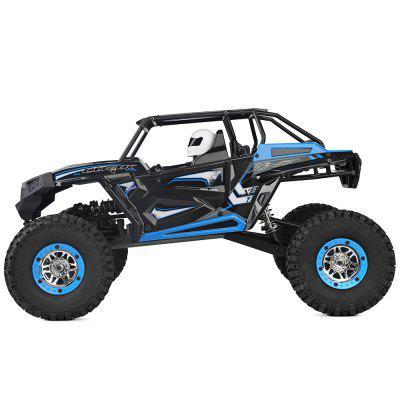 WLtoys 10428 - B 4WD 30km/h Rock Climbing RC Truck - RTRHot Products<br>WLtoys 10428 - B 4WD 30km/h Rock Climbing RC Truck - RTR<br><br>Brand: WLtoys<br>Car Power: Built-in rechargeable battery<br>Charging Time: 240 minutes<br>Detailed Control Distance: About 100m<br>Drive Type: 4 WD<br>Features: Radio Control<br>Material: Electronic Components, PA<br>Motor Type: Brushed Motor<br>Package Contents: 1 x RC Truck, 1 x Transmitter with LCD Display, 1 x Balance Charger, 1 x Cross Sleeve, 1 x English Manual<br>Package size (L x W x H): 60.00 x 27.50 x 22.50 cm / 23.62 x 10.83 x 8.86 inches<br>Package weight: 3.9230 kg<br>Product size (L x W x H): 41.00 x 24.70 x 21.00 cm / 16.14 x 9.72 x 8.27 inches<br>Product weight: 1.9160 kg<br>Proportion: 1:10<br>Racing Time: 19~20mins<br>Remote Control: 2.4GHz Wireless Remote Control<br>Transmitter Power: 6 x 1.5V AA battery (not included)<br>Type: Crawler Car