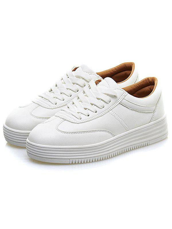 Chunky White Trainers, WHITE, 40, Bags & Shoes, Women's Shoes, Women's Sneakers