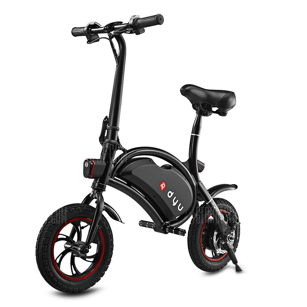 Bons Plans Gearbest Amazon - F wheel D1 DYU Electric Bike