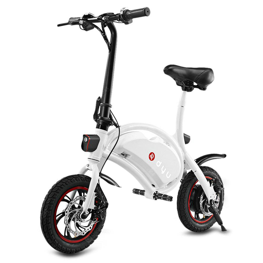 Bons Plans Gearbest Amazon - F - wheel D1 DYU Electric Bike