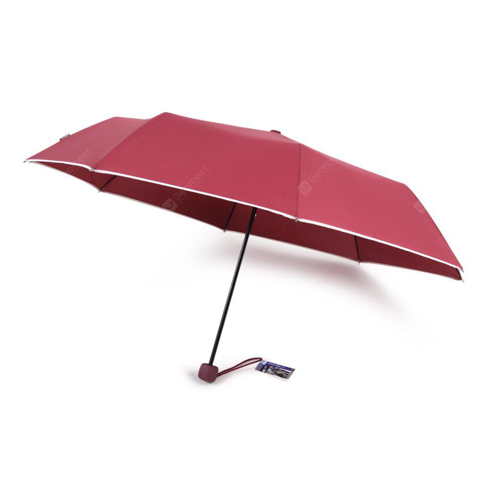 WINE RED rainscape 8003 Windproof Folding Umbrella