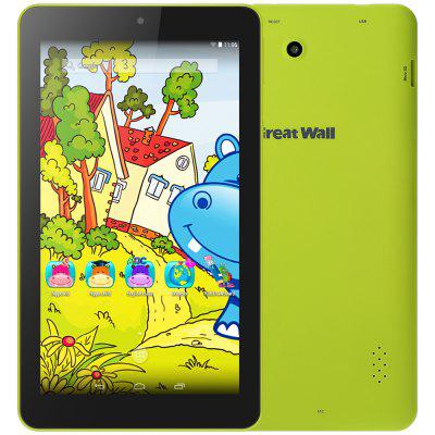 Great Wall W715 Kids Tablet PC  -  GREEN