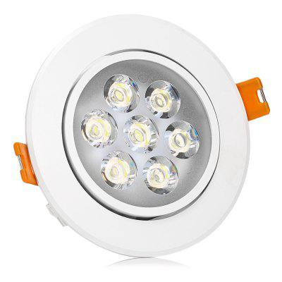 YouOKLight 7 x 1W SMD 2835 600Lm 6000K LED Ceiling Panel Light with Clear Shell от GearBest.com INT