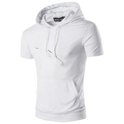 WHATLEES Extended Hoodie Men T Shirt