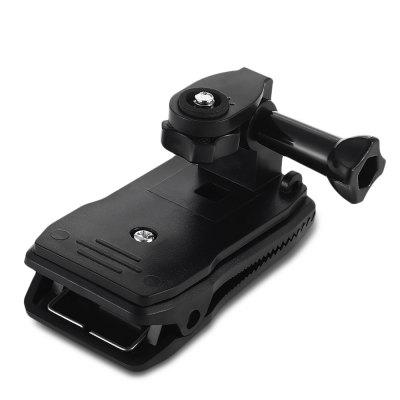 360 Degrees Rotatable Bag Clip Mount with Screw for GOPRO HERO / SJ4000 SJ5000 SJ6000 / Xiaomi Yi