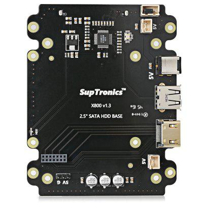 SupTronics X800 2.5 inch SATA HDD / SSD Expansion Board