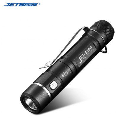 JETBeam E10R Rechargeable LED No Battery Flashlight