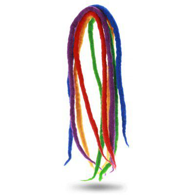 5PCS Feutre en Laines Perruque Dreadlocks