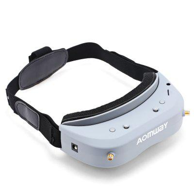 AOMWAY Commander V1 FPV GogglesFPV Goggles &amp; Monitors<br>AOMWAY Commander V1 FPV Goggles<br><br>Antenna: 5dBi straight antenna; 6dBi mushroom antenna<br>Battery Information: not including battery<br>Brand: Aomway<br>FPV Equipments: FPV Goggles<br>Functions: Video<br>Operating Voltage Range: DC 7 - 18V<br>Package Contents: 1 x Pair of FPV Goggles, 2 x Antenna, 1 x AV Cable, 1 x Filter Rectifier, 1 x Elastic Band, 2 x Eye Mask ( Thin and Thick ), 1 x Chinese-English Manual<br>Package size (L x W x H): 23.00 x 16.50 x 7.70 cm / 9.06 x 6.5 x 3.03 inches<br>Package weight: 0.4400 kg<br>Product weight: 0.1720 kg<br>Resolution: 854 x 480px ( WVGA )<br>TV System: NTSC, Auto, PAL