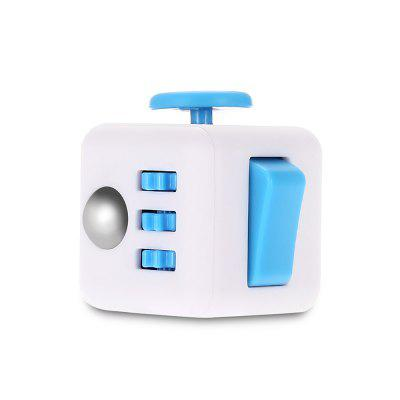 ABS Stress Reliever Fidget Magic Cube for WorkerFidget Cubes<br>ABS Stress Reliever Fidget Magic Cube for Worker<br><br>Features: Creative Toy<br>Materials: ABS<br>Package Contents: 1 x Magic Cube Toy<br>Package size: 6.30 x 6.30 x 4.50 cm / 2.48 x 2.48 x 1.77 inches<br>Package weight: 0.0700 kg<br>Product size: 3.30 x 3.30 x 3.30 cm / 1.3 x 1.3 x 1.3 inches<br>Product weight: 0.0500 kg<br>Series: Lifestyle<br>Theme: Other