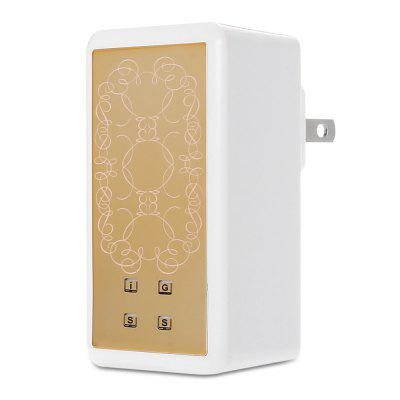 3.5A Travel Charger Quick Charge 4 USB Power Adapter Dock