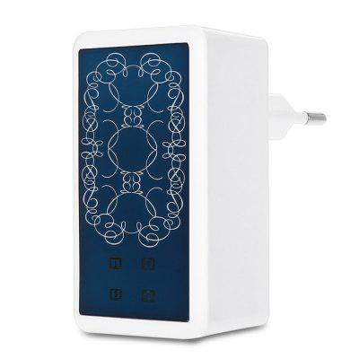 EU Plug 3.5A 4 USB Quick Charge Travel Power Charger