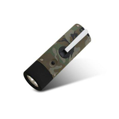 LED Hand Crank Flashlight