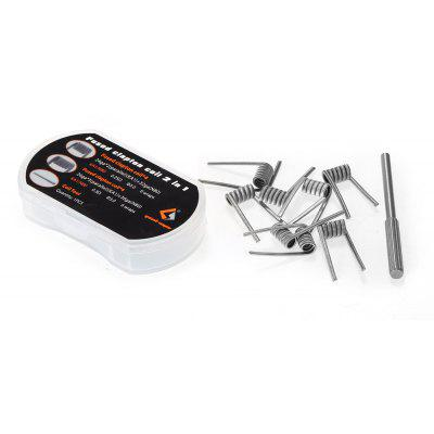 8pcs Geekvape Fused Clapton Coil with 2 Types in 1 Box