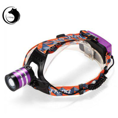 UKing ZQ - G70000 Cree XML T6 3000Lm 18650 Rechargeable LED Headlamp