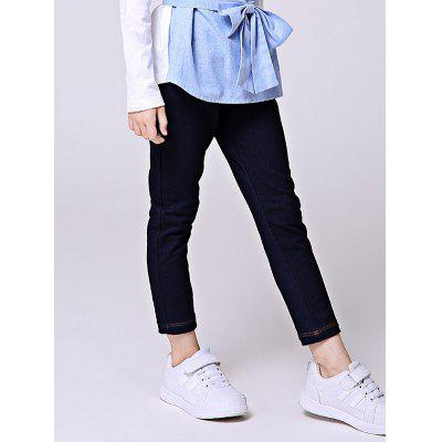 Liancaiyi Elastic Waist Long Denim Pants for Girls от GearBest.com INT