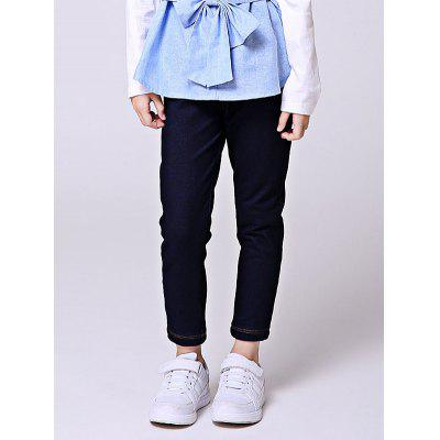 Liancaiyi Elastic Waist Long Denim Pants for GirlsGirls Clothing<br>Liancaiyi Elastic Waist Long Denim Pants for Girls<br><br>Brand: Liancaiyi<br>Color: Deep Blue<br>Package Content: 1 x Pants<br>Package size: 30.00 x 5.00 x 25.00 cm / 11.81 x 1.97 x 9.84 inches<br>Package weight: 0.2800 kg<br>Pattern Type: Solid<br>Product weight: 0.2400 kg