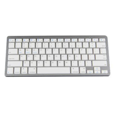 BK3001BA Bluetooth Wireless English Keyboard Aluminum Alloy / ABS Computer Peripheral