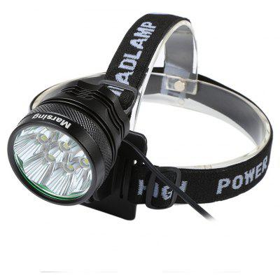 Marsing 8.4V 3 Modes 8 LED Cree XML T6 Bicycle Light