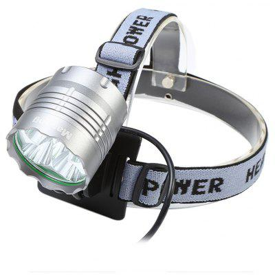 Marsing 8.4V 3 Modes 5 LED Cree XML T6 Bicycle Light