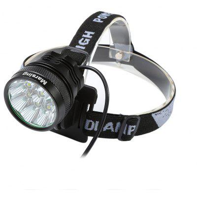 Marsing 8.4V 3 Modes 9 LED Cree XML T6 Bicycle Light