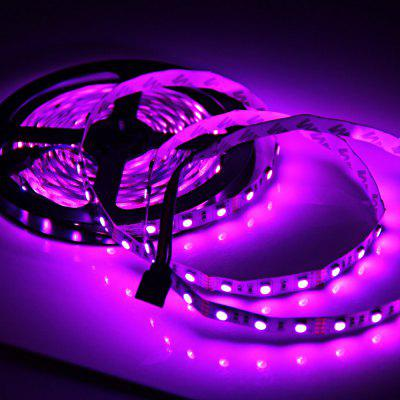 DIY 5m DC 12V 72W SMD5050 300 LEDs RGB Light Strip for Indoor Decoration