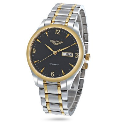 GUANQIN GJ16033 Men Auto Mechanical Watch