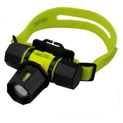 SingFire SF - 602B Cree XM - L T6 2 Modes 800lm 18650 LED Diving Headlamp