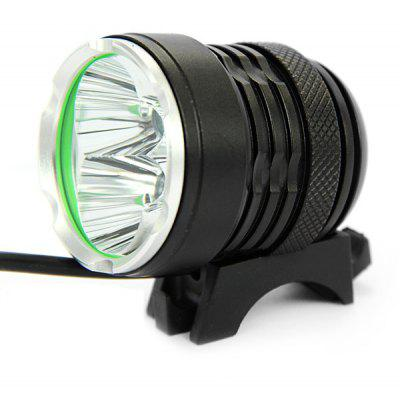 K3-B 3 x Cree XM-L T6 3600 Lumens 3 Modes Waterproof Headlight Bicycle Light with 3600mAh Battery Pack