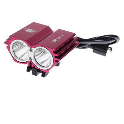 Solarstorm X2 Owl Pattern 2 x Cree XM - L U2 4000lm 4 - Mode 18650 LED Headlamp