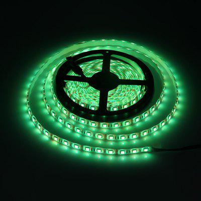 5 Meters 72W 300 SMD 5050 LEDs Voice - activated RGB Ribbon Light IP65 Water Resistance DIY Strip Lamp Kit  -  12V 5A