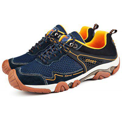 Men Mountaineering Hiking Shoes for Outdoor Sport