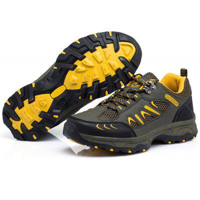 Buy Men Breathable Hiking Shoes, ARMY GREEN, 40, Bags & Shoes, Men's Shoes, Athletic Shoes for $43.05 in GearBest store