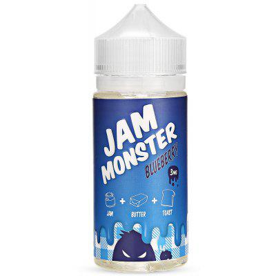 Jam Monster Blueberry E-liquid with 100ml / 3mg