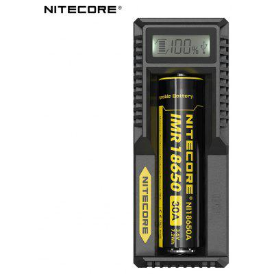 Nitecore UM10 Caricatore Intelligente Tiny Digi Caricatore Batterie Litio con Schermo LCD Batterie 17500 18650 16340 14500